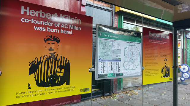 Herbert Kilpin Bus Stop