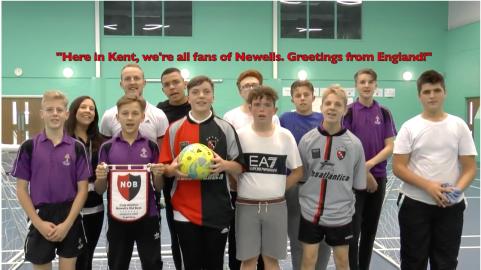 Kent school football team