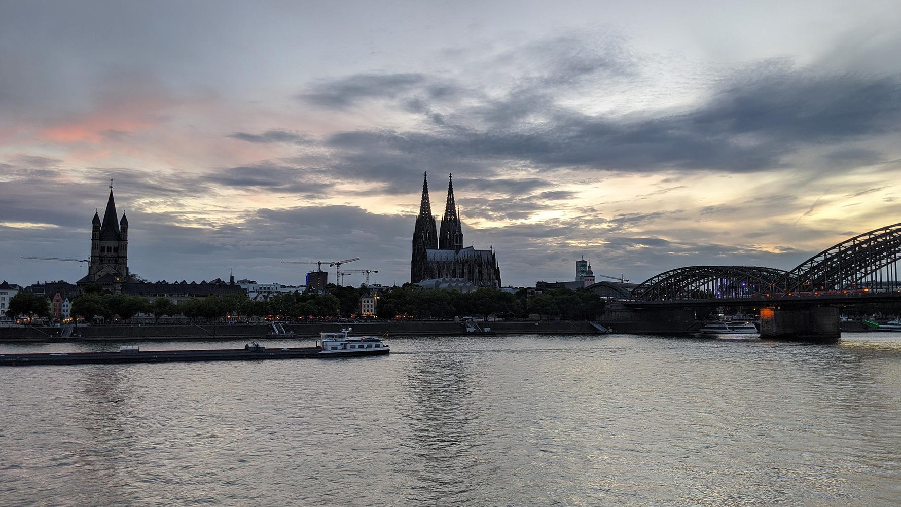 萊茵河黃昏